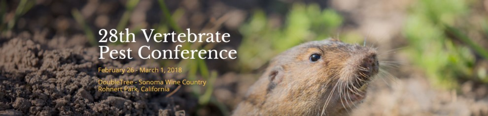 28th Vertebrate Pest Conference